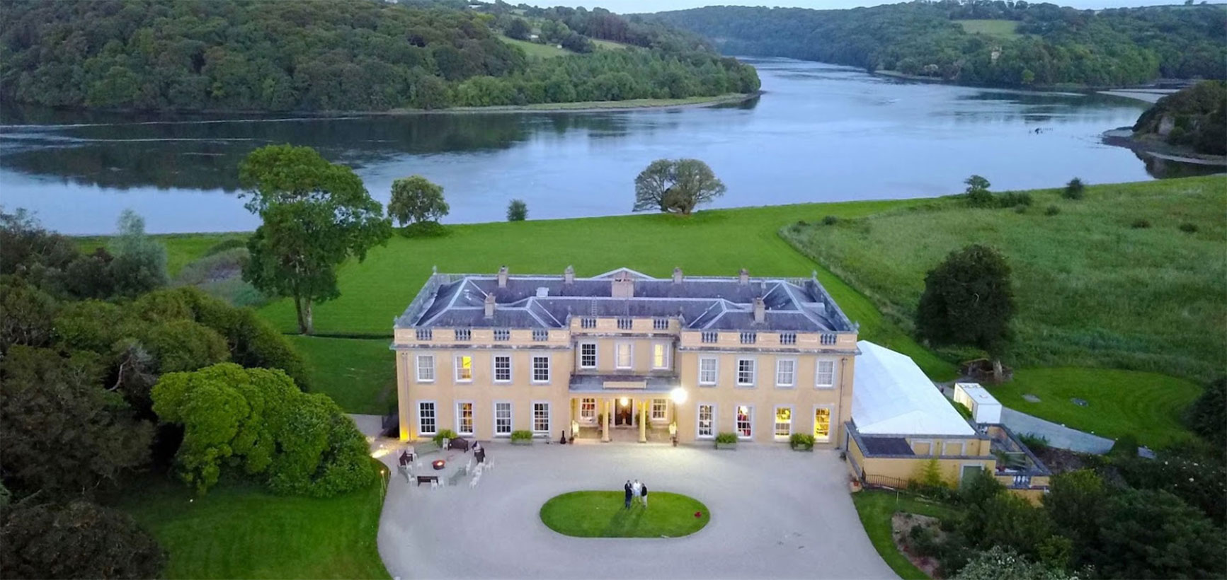 ballynatray house luxury accommodation and wedding venue ireland