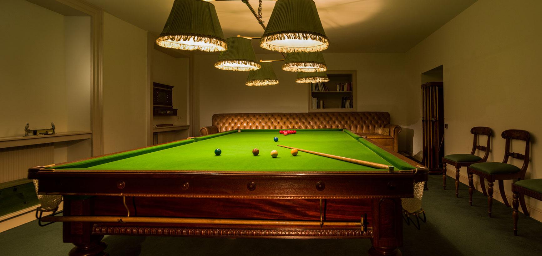 ballynatray house snooker table